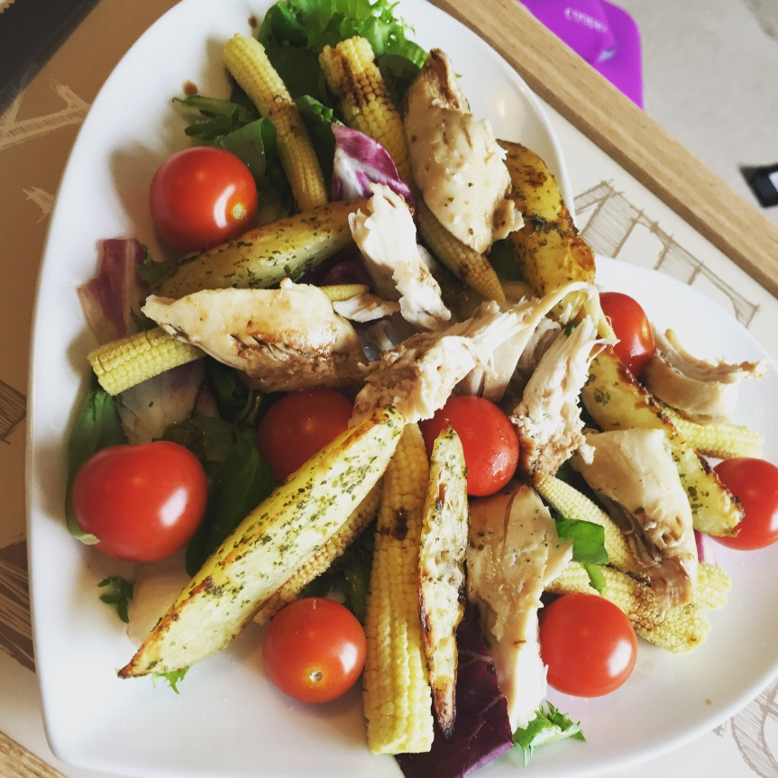 Chicken salad for simples